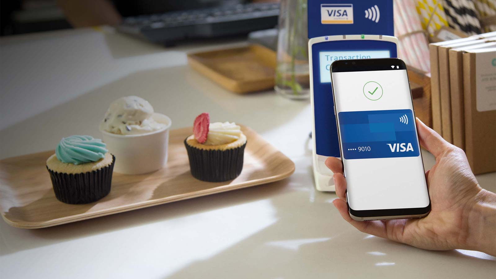 Mobile contactless payment
